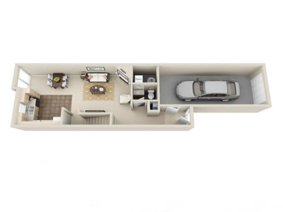 Floor Plan  2 Bed 2.5 Bath