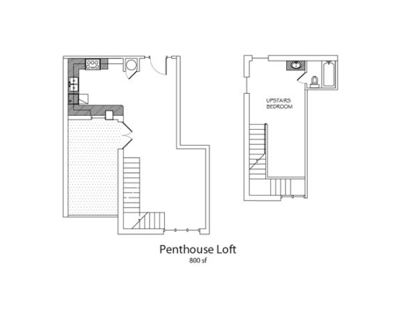 Floor Plan  Penthouse, opens a dialog.