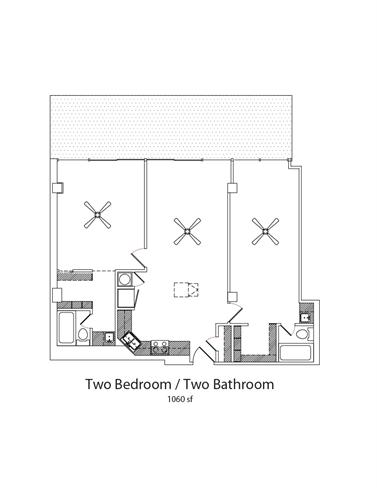 Floor Plan  2Bed2Bath, opens a dialog.