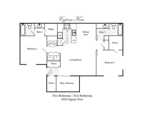 Floor Plan  Cypress Knee