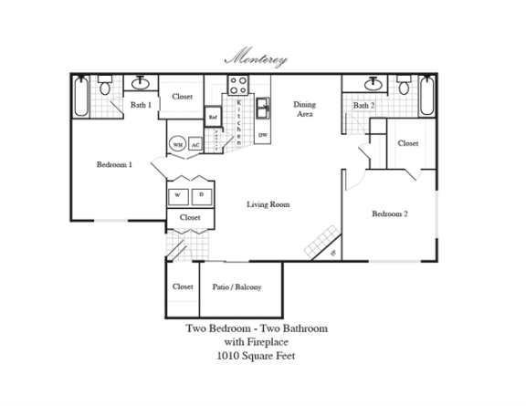 Floor Plan  Monterey