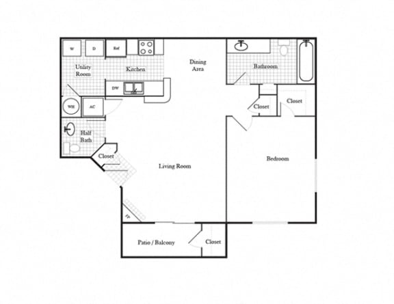 Floor Plan  Tuscany, opens a dialog.