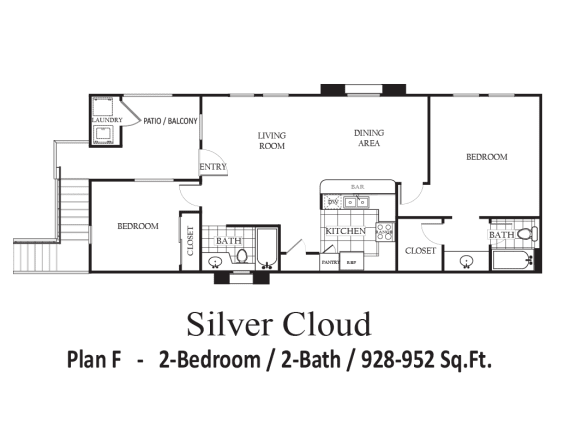 Floor Plan  Silver Cloud, opens a dialog.