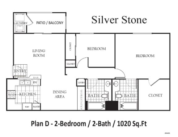 Floor Plan  Silverstone, opens a dialog.