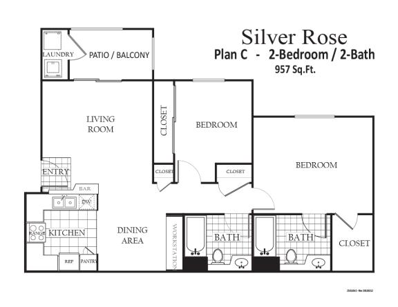Floor Plan  Silverrose, opens a dialog.