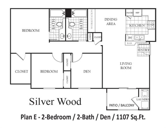 Floor Plan  Silverwood, opens a dialog.