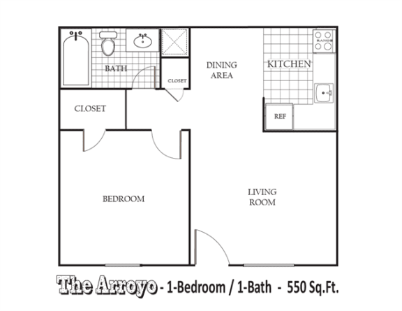 Floor Plan  The Arroyo