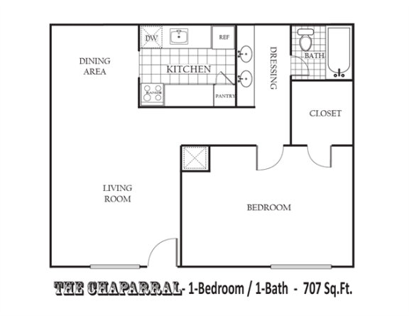 Floor Plan  The Chaparral