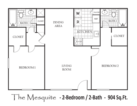 Floor Plan  The Mesquite