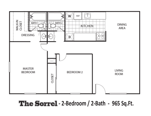 Floor Plan  The Sorrel