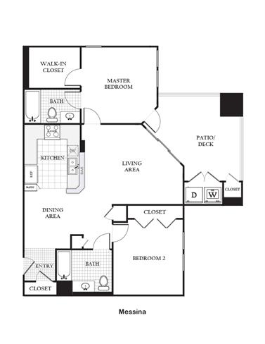 Floor Plan  Messina