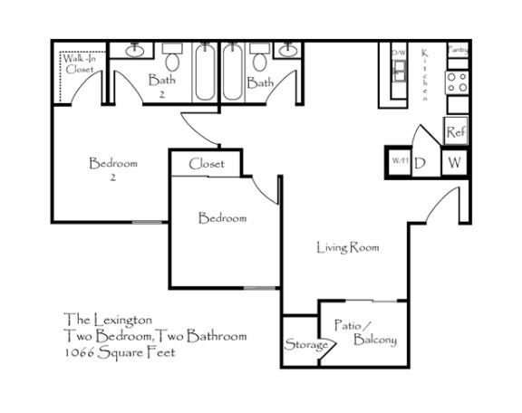 Floor Plan  Lexington, opens a dialog.