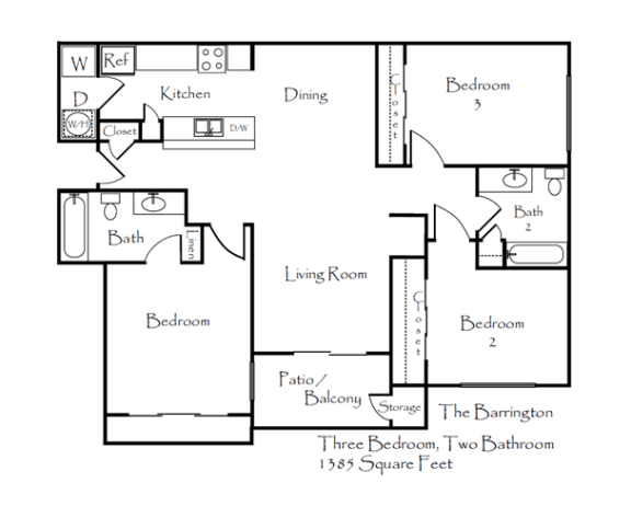 Floor Plan  Barrington, opens a dialog.