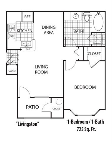Floor Plan  Livingston