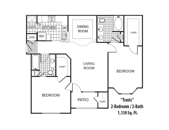 Floor Plan  Travis