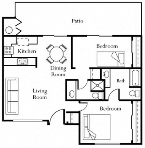 Floor Plan  Casa Rio Floorplan at Riverwalk Landing