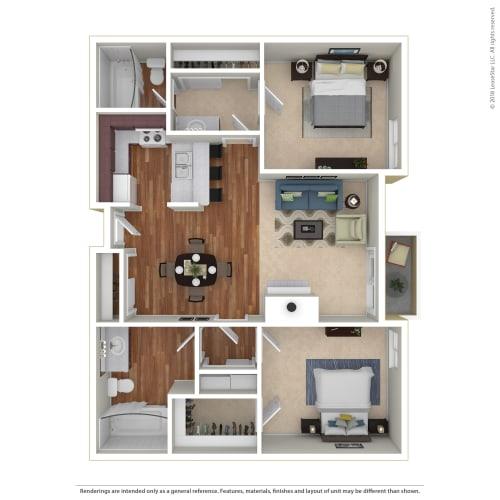 Floor Plan  Northview-Southview Apartment Homes 8111 Reseda Boulevard  Reseda, CA 91335