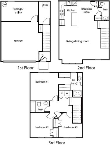 Floor Plan  The Pritchard, opens a dialog.