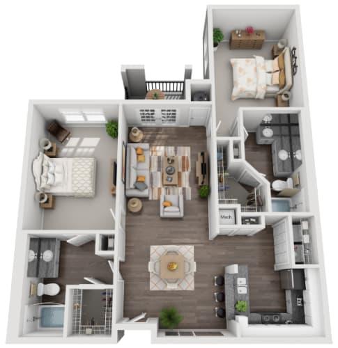 Floor Plans Of Savannah Midtown In Atlanta Ga