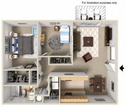 Floor Plan  Westwood Village | Apartments | Floorplan | Cedar