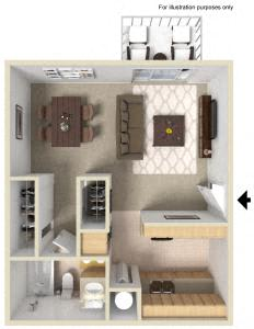 Floor Plan  Westwood Village | Apartments | Floorplan | Studio