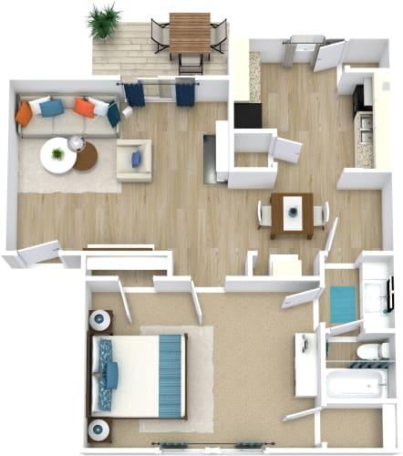 Floor Plan  Amanda