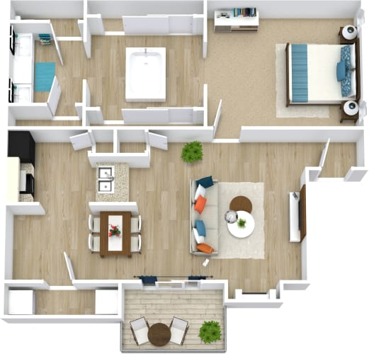 Floor Plan  Marilyn