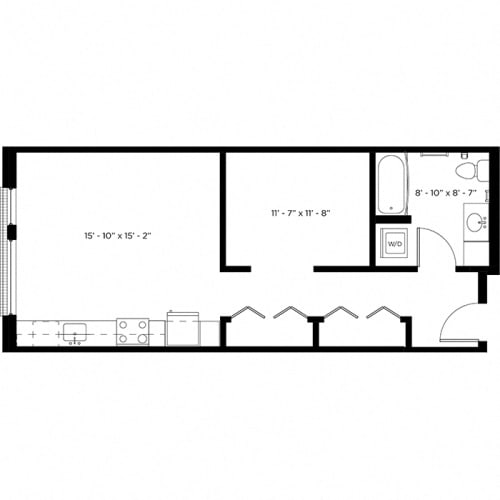 Floor Plan  Atlas 0B Floor Plan