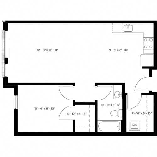 Floor Plan  Atlas 1A Floor Plan