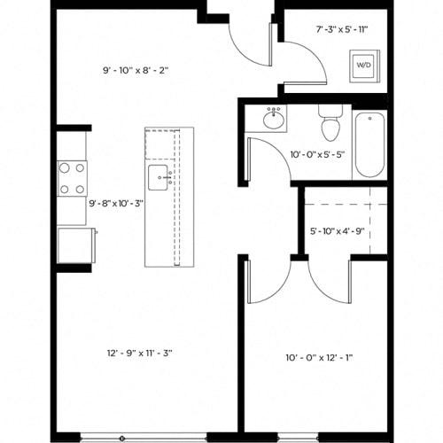 Floor Plan  Atlas 1G Floor Plan