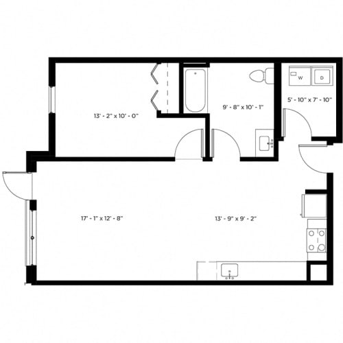 Floor Plan  Atlas 1H Floor Plan