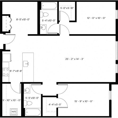 Floor Plan  Atlas 2C-1 Floor Plan