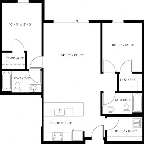 Floor Plan  Atlas 2H Floor Plan