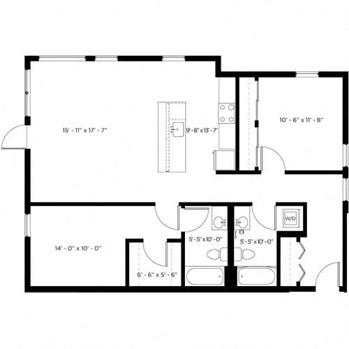 Floor Plan  Atlas 2K Floor Plan
