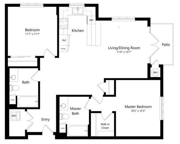 Floor Plan  Old Fashioned