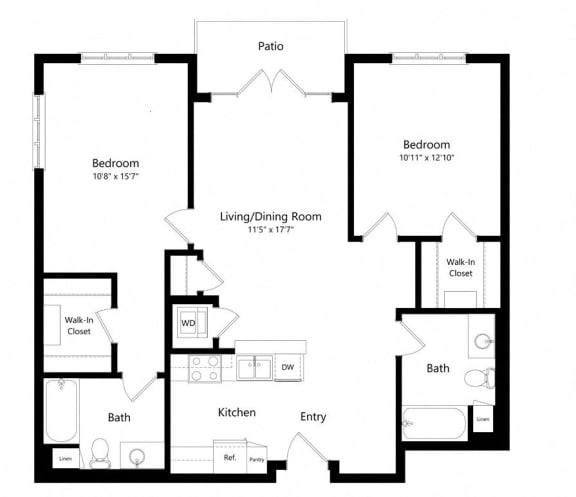 Floor Plan  Dubonnet