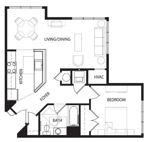 Floor Plan  1 D