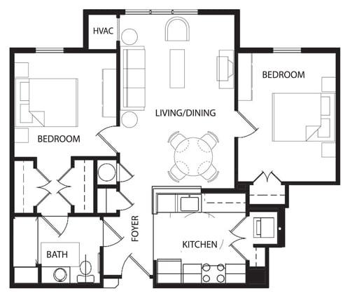 Floor Plan  2 A