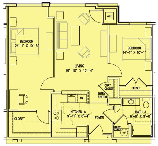 Floor Plan  2 E