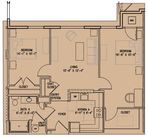 Floor Plan  2 F