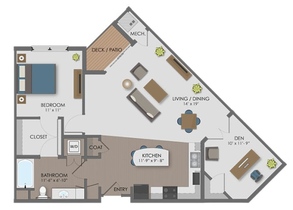 Floor Plan  Floor plan at The Edison at Avonlea, Lakeville