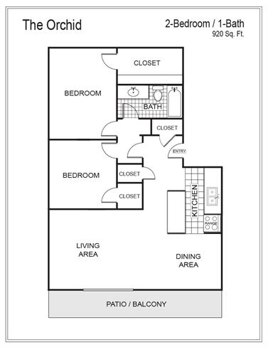 Floor Plan  Orchid