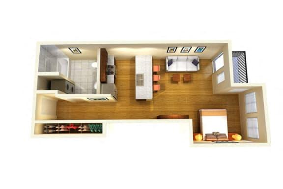 Floor Plan  Studio C
