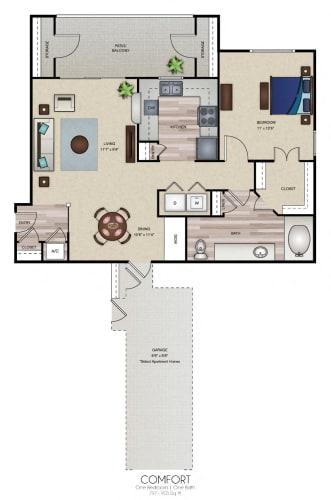 Floor Plan  Comfort