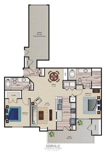 Floor Plan  Kerrville