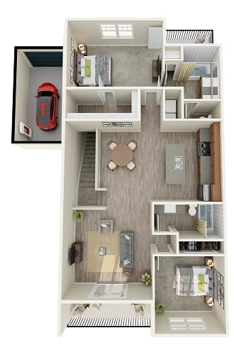 Floor Plan  The Ranger