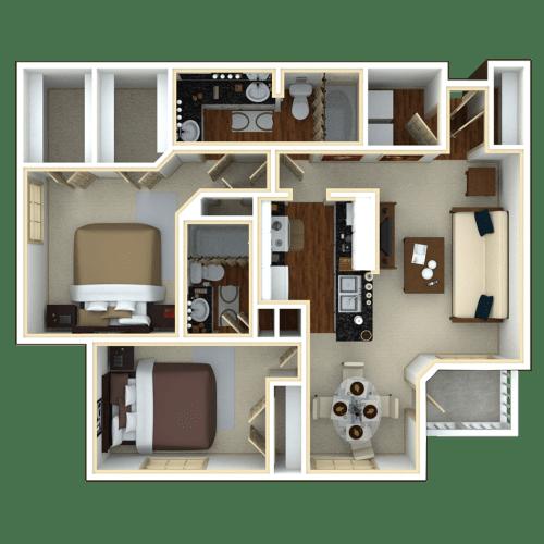 Floor Plan  Majesty Palm II