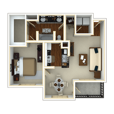 Floor Plan  DATE PALM