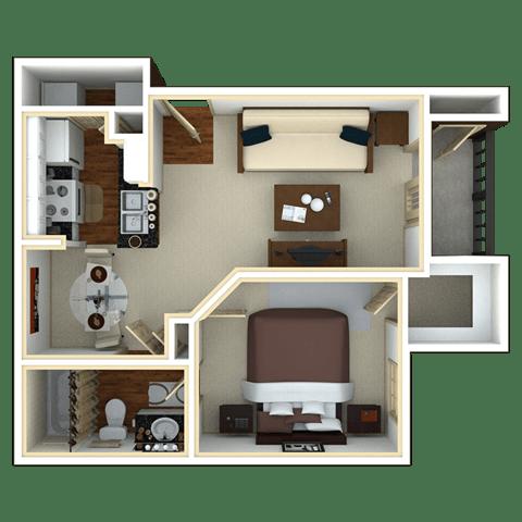 Floor Plan  PALMETTO PALM