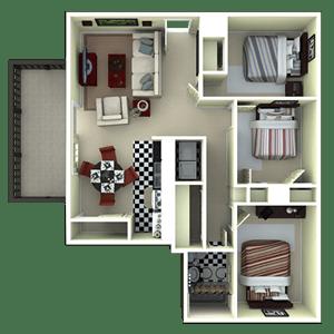Floor Plan  C1R